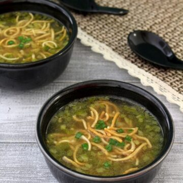 Veg manchow soup recipe (Indo-chinese) | How to make manchow soup
