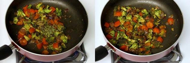 Broccoli sabzi recipe   How to make broccoli sabzi