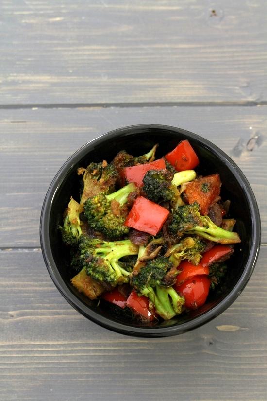 Broccoli sabzi recipe | How to make broccoli sabzi