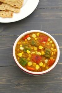 Corn capsicum masala recipe | How to make corn capsicum masala
