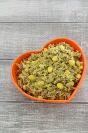 Corn rice recipe   How to make sweet corn rice
