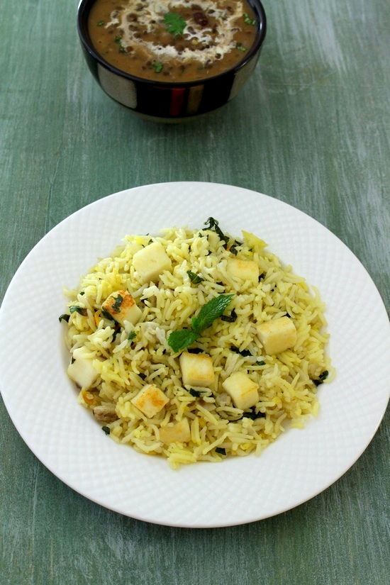 Paneer pulao recipe |Paneer pulav | How to make paneer pulao