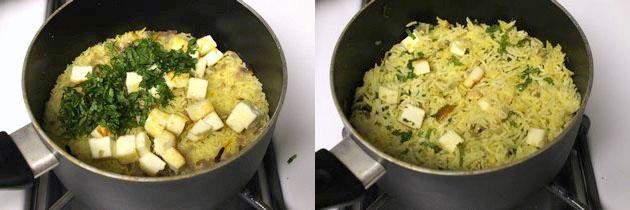 Paneer pulao recipe  Paneer pulav   How to make paneer pulao
