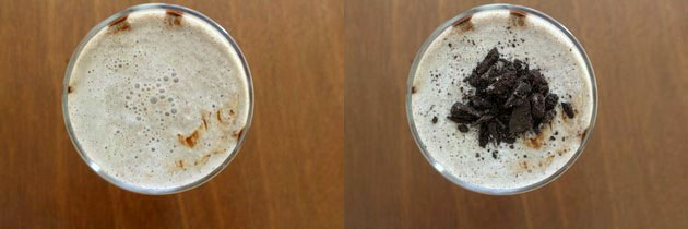Oreo milkshake recipe | How to make oreo milkshake