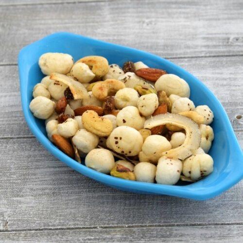 Makhana namkeen recipe for vrat | Roasted makhana with dry fruits