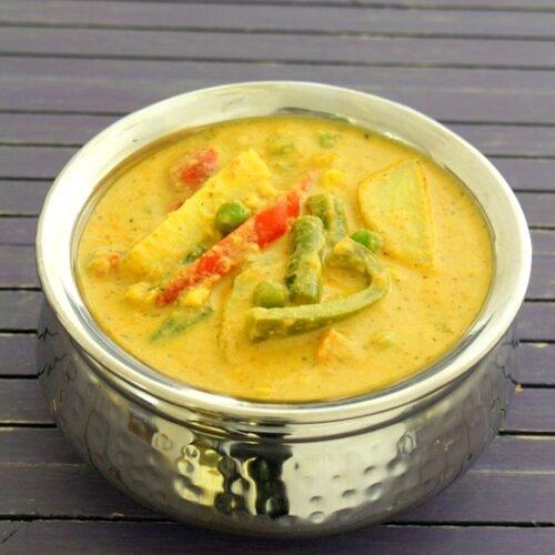 Veg diwani handi recipe   How to make vegetable handi, restaurant style