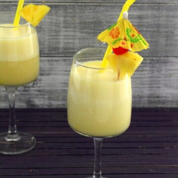 Virgin pina colada recipe | How to make pina colada mocktail