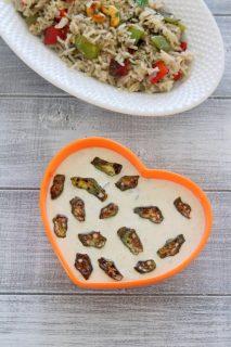 Bhindi raita recipe | How to make bhindi raita, Okra raita