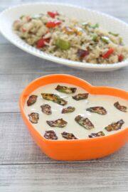 Bhindi raita recipe | How to make bhindi raita, Okra raita recipe