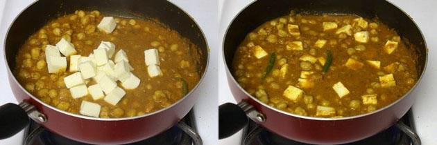 Chana paneer recipe | Chole Paneer | Punjabi chole paneer masala