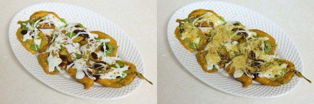 Palak chaat recipe   Spinach chaat (Palak pakoda chaat recipe)