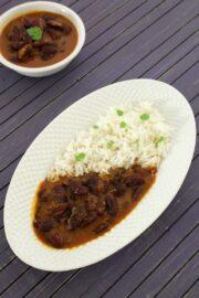 Rajma chawal recipe | How to make punjabi rajma chawal