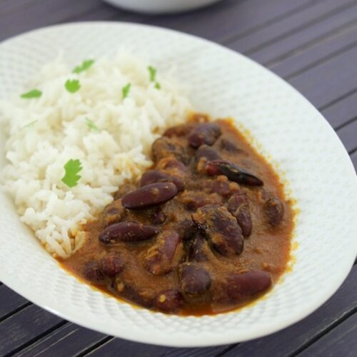 Rajma chawal recipe | How to make punjabi rajma chawal