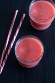 Strawberry watermelon juice recipe (Fresh fruit juice recipes)