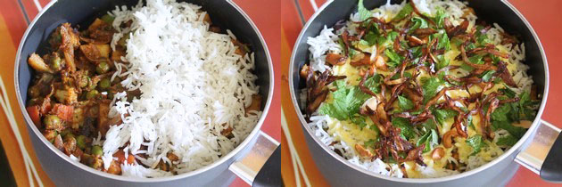 Veg biryani recipe | How to make Hyderabadi veg dum biryani