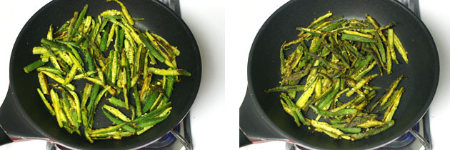 Bhindi fry recipe | Crispy bhindi sabzi (How to make okra fry)