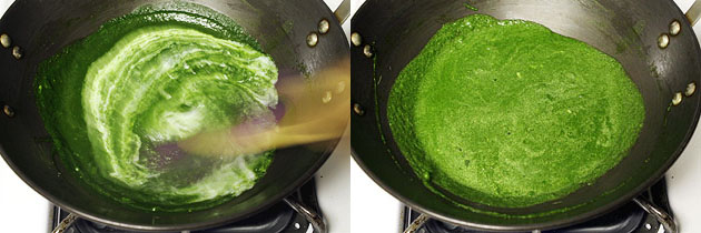Corn palak recipe (How to make makai palak curry recipe)