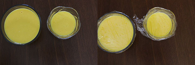 Mango custard recipe | How to make mango custard