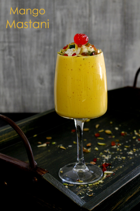Mango mastani recipe | How to make mango mastani drink