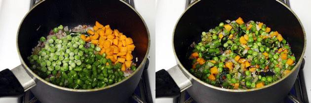 Quinoa upma recipe, How to make quinoa upma with mixed vegetables