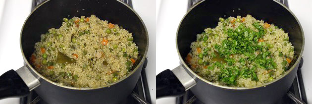 Quinoa upma recipe, How to make quinoa upma with mixed vegetables