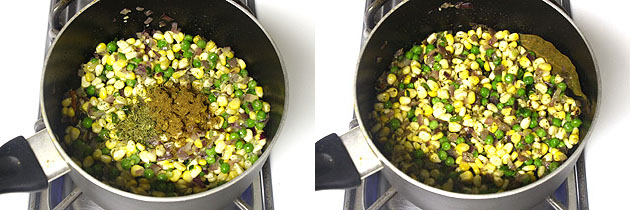 Corn pulao recipe (How to make sweet corn pulao)