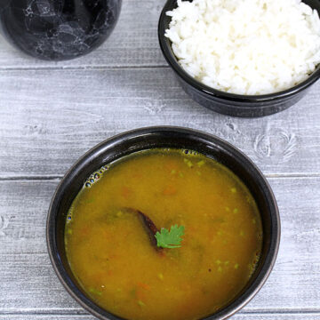 Dal Rasam recipe (Paruppu rasam) | how to make dal rasam