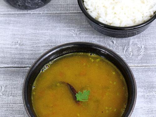 Dal Rasam recipe (Paruppu rasam)