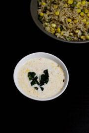 Plain raita recipe (Tadka Raita) | How to make plain raita