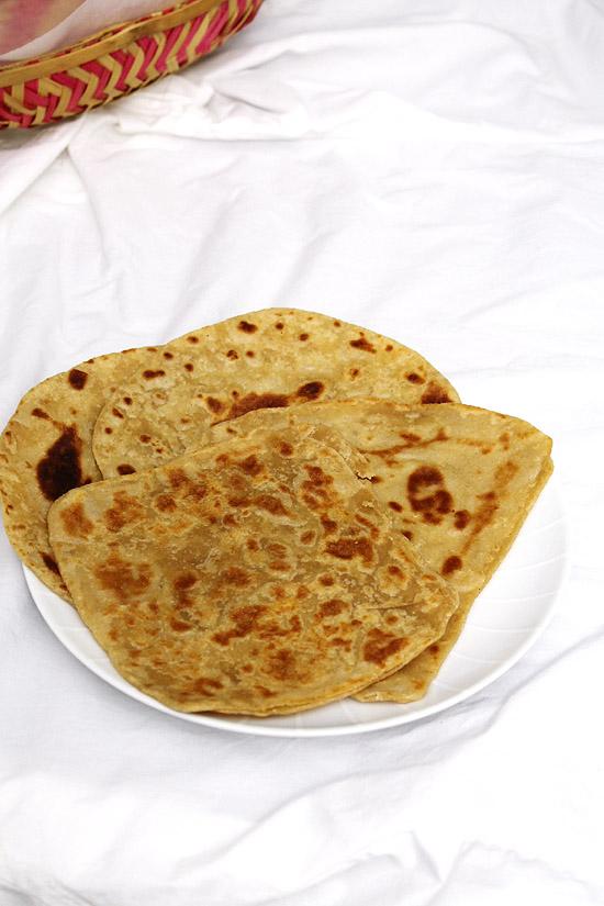 Tawa paratha recipe