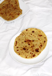 Plain paratha recipe (How to make paratha), Tawa paratha