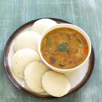 Sambar recipe | How to make sambar (South Indian vegetable sambar)