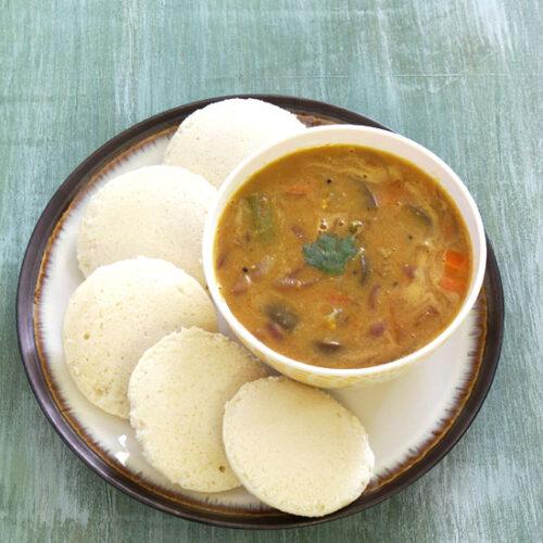Sambar recipe | How to make sambar (South Indian vegetable sambar)