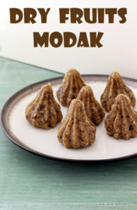 Dry fruits modak recipe (How to make dry fruits modak)