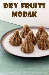 Dry fruits modak recipe (How to make dry fruits modak)