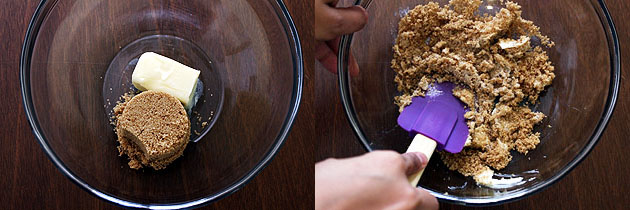 Eggless butterscotch cupcake recipe, How to make butterscotch cupcakes