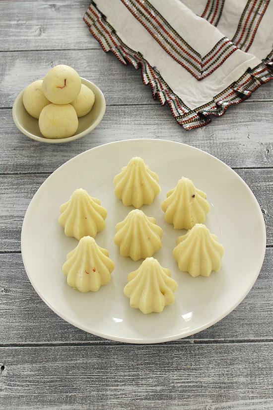 Malai modak recipe (Paneer modak), How to make malai ladoo/modak