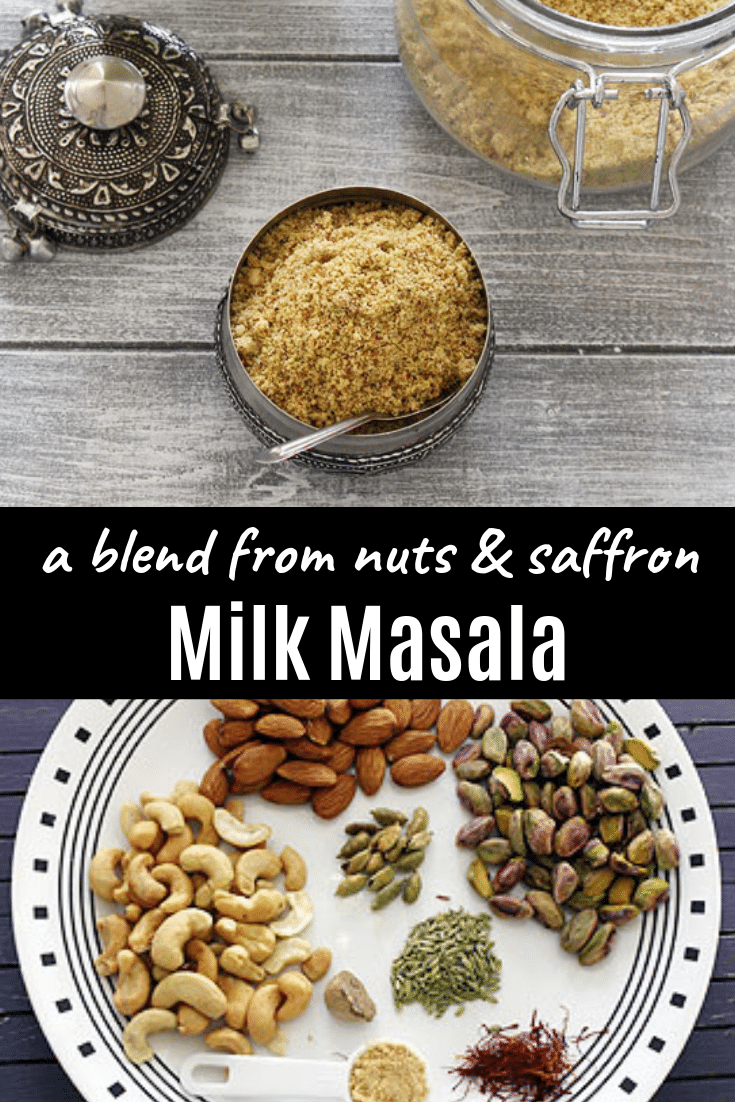 Milk masala powder recipe