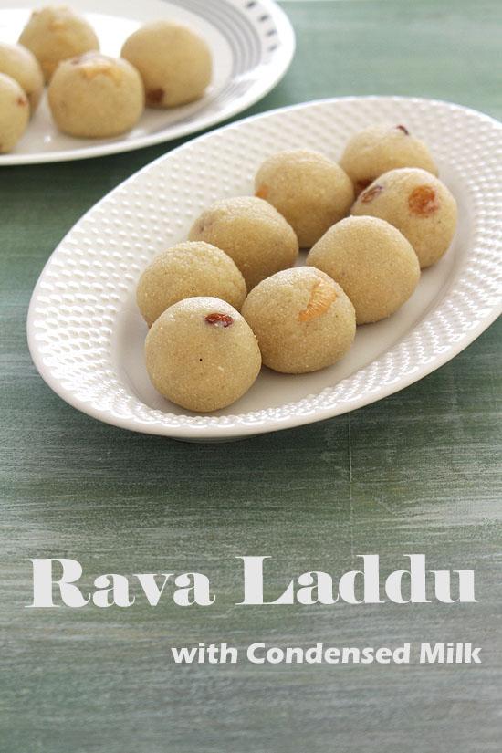 रवा लड्डू बनाने की विधि (Rava Ladoo Recipe in Hindi), सूजी के लाडू