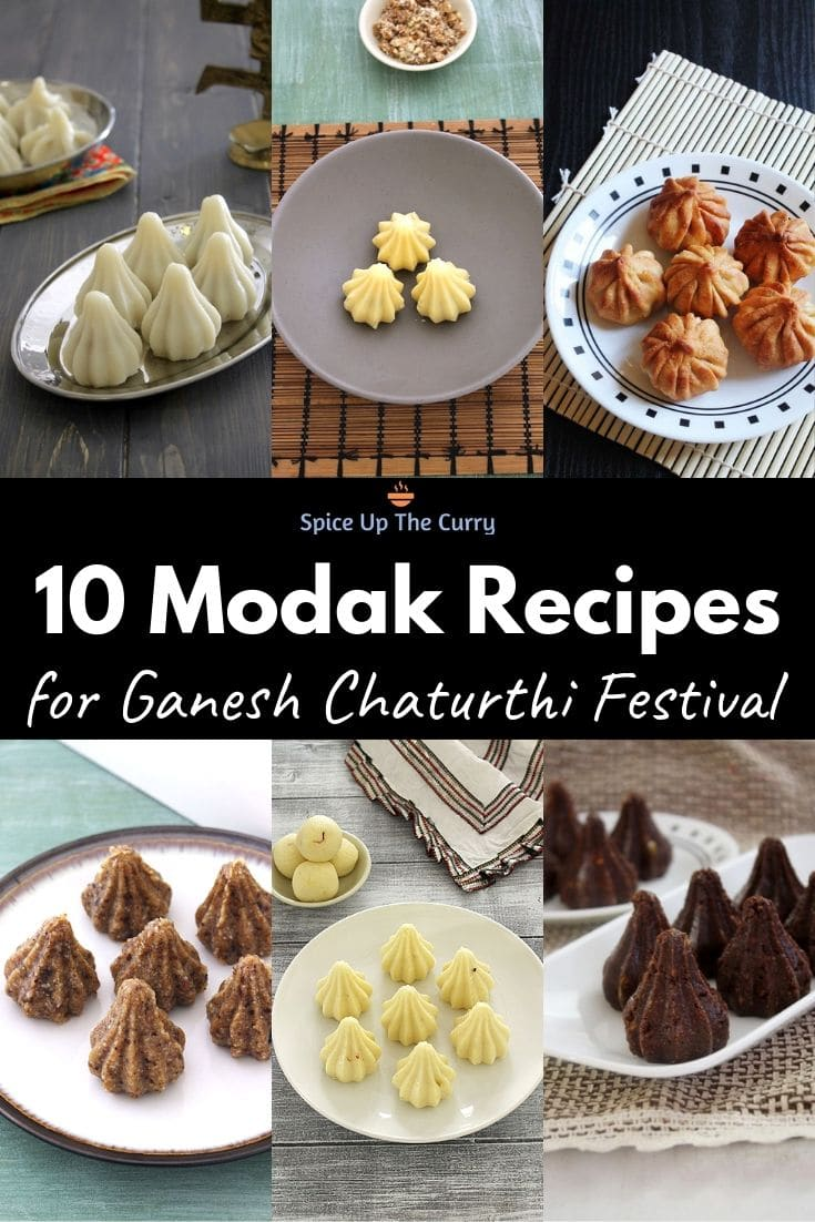 Different modak recipes for ganesh chaturthi