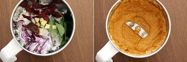 Red coconut chutney recipe (Kerala style red coconut chutney recipe)
