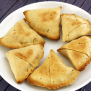 Baked samosa recipe (How to make samosa in the oven), Healthy samosa