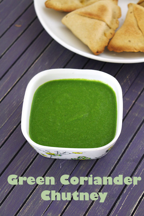 How to make coriander chutney | Cilantro chutney