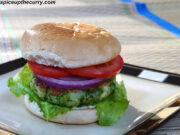 Green peas burger recipe (How to make paneer green peas burger)