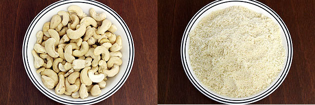 cashew nut and its powder