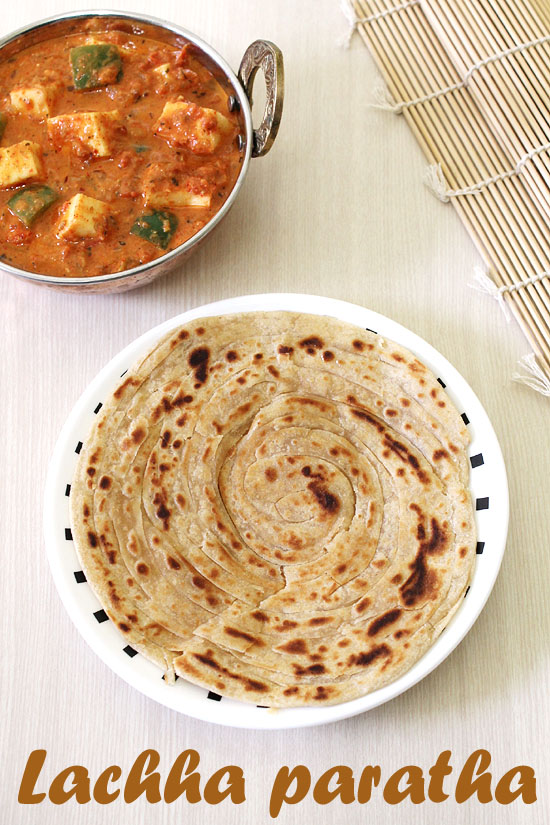 Lachha paratha recipe (How to make BEST lachha paratha)