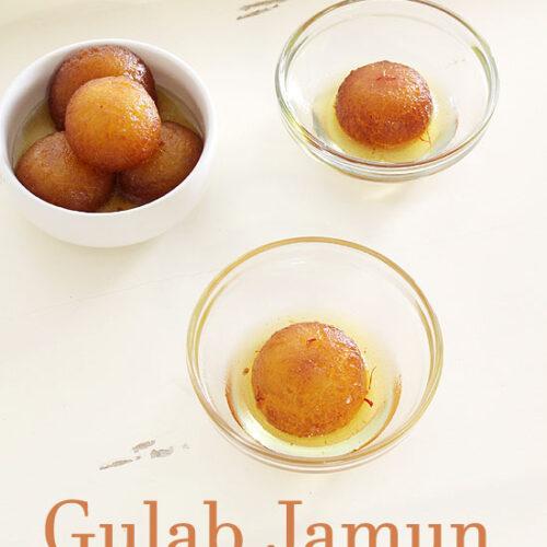 Milk powder Gulab jamun recipe (Instant gulab jamun with milk powder)