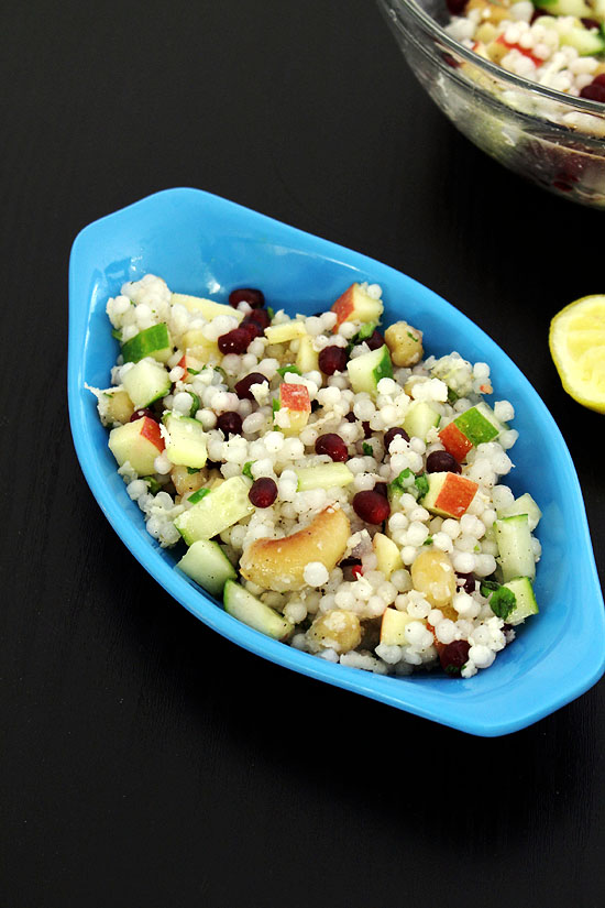 Sabudana salad recipe for vrat (How to make sabudana salad)