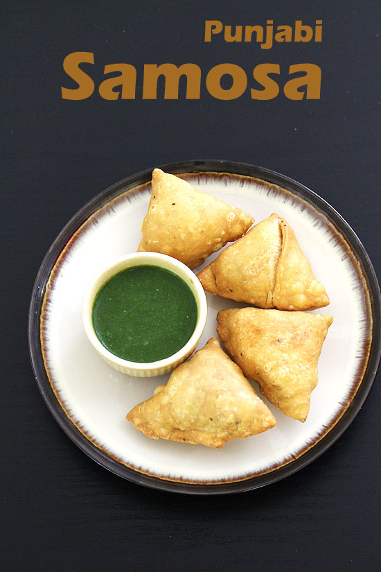 Samosa recipe (How to make samosa), Punjabi aloo Samosa