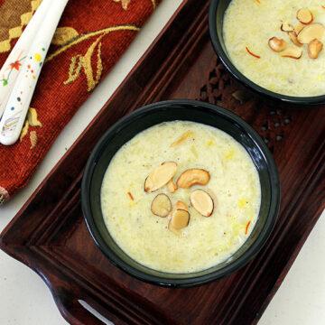 Sweet potato kheer recipe (How to make sweet potato kheer)